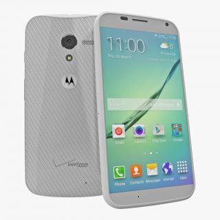 3D Motorola Moto X White