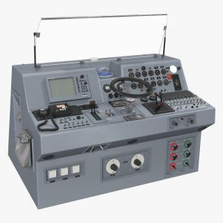 Military Boat Control Panel 3D