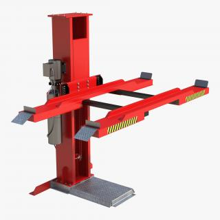 3D model Single Post Car Lift