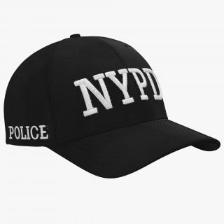 3D model NYPD Police Hat