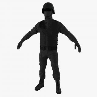 SWAT Uniform 4 3D model