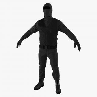 SWAT Uniform 5 3D model