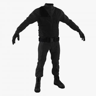 SWAT Uniform 6 3D model