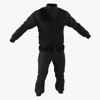 SWAT Uniform 7 3D model