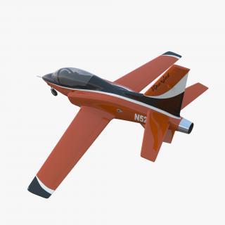 3D Sport Aircraft ViperJet model
