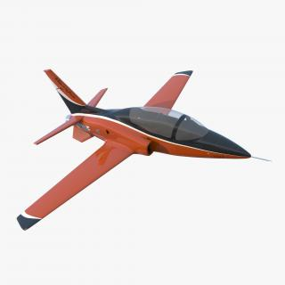 3D model Sport Aircraft ViperJet Rigged