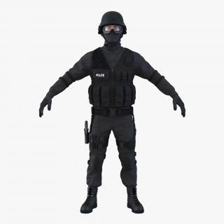 SWAT Man Mediterranean 3D