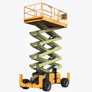 Telescopic Boom Lifts Collection 3D