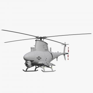 Northrop Grumman MQ 8B Fire Scout UAV 3D