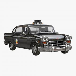 3D Checker Cab