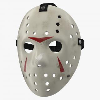 3D Hockey Mask 5 model