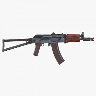 3D Assault Rifle AKS 74U