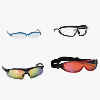 3D Sport Glasses Collection 2