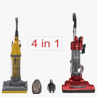 3D Vacuum Cleaners Collection