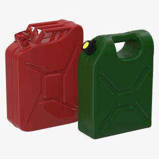 Gas Cans 3D Models Collection 3D model