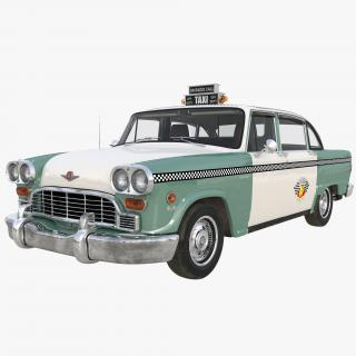 3D model Checker Taxicab 1982