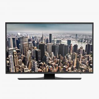 3D model Samsung 4K UHD JU6500 Series Smart TV 65 inch