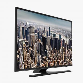 3D model Samsung 4K UHD JU6500 Series Smart TV 48 inch