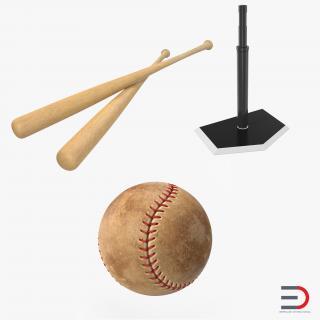Baseball Batting Collection 2 3D model