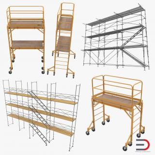 Scaffolding Collection 3D