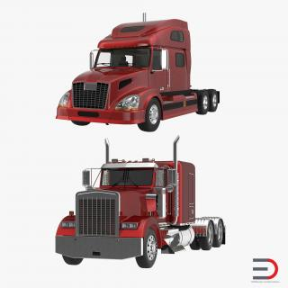 Semi Trailers Collection 3D model