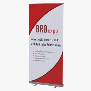 Banner Stand 2 3D model