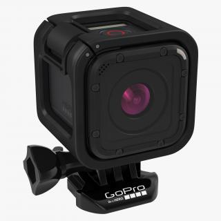 GoPro Hero 4 Session Set 3D model