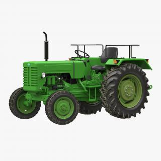 Generic Tractor Rigged 3D