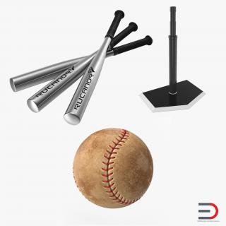 Baseball Batting Collection 3D