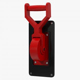 3D Industrial Power Switch model