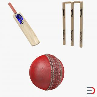 3D model Cricket Collection 2