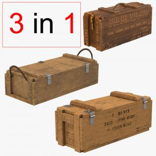 Ammo Crates Collection 3D