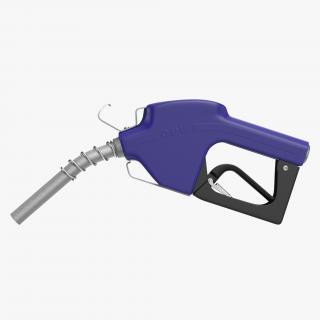 3D Fuel Nozzle Blue