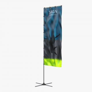 Banner Stand 5 3D model