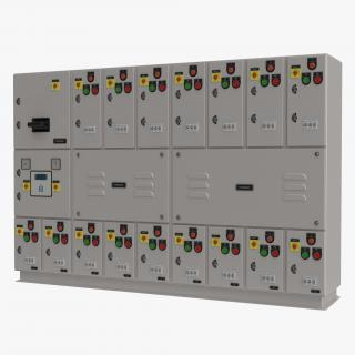 Industrial Electrical Panel 3D