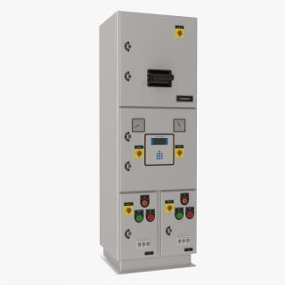 Industrial Electrical Panel 3 3D model