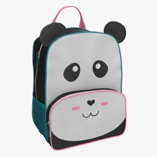 3D Kid Backpack Panda model