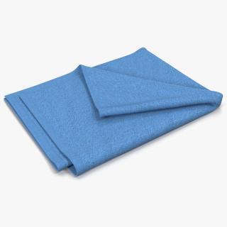 Towel 4 Blue 3D