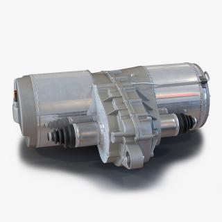 3D model Tesla Electric Motor