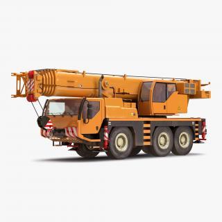 Compact Mobile Crane 2 3D