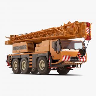 Compact Mobile Crane Liebherr 3D model