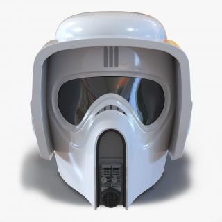 3D model Star Wars Scout Trooper Helmet