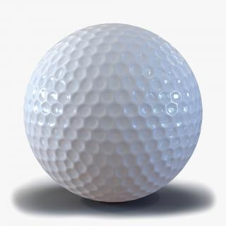 Golf Ball Generic 3D