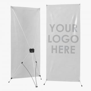 3D model Banner Stand Generic