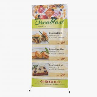 Banner Stand 3D