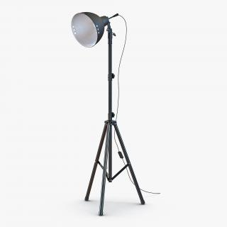 3D Photo Studio Halogen Floor Lamp