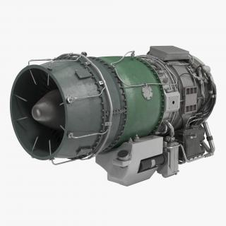 3D Turbojet Engine General Electric J85