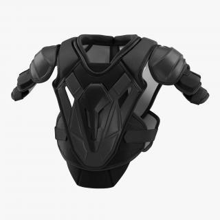3D model Hockey Shoulder Pads