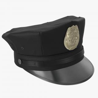 3D model City Police Hat