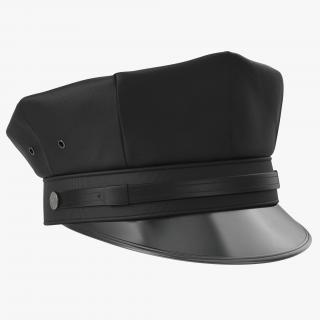 Police Hat 2 3D